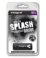 Integral Splash 32GB USB Flash Drive package
