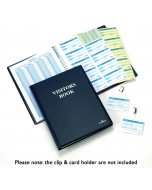 Visitor Book Cover with 300 Inserts (Durable)